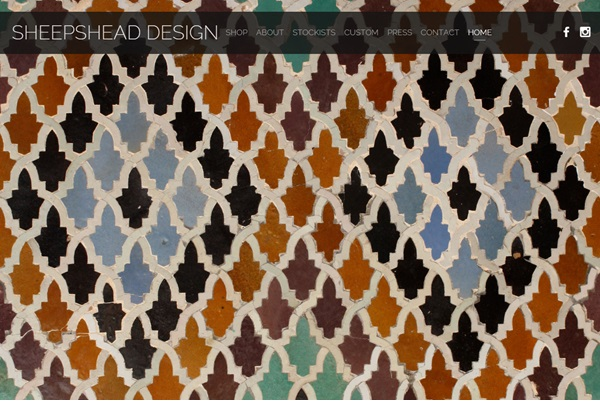 Sheepshead Design website